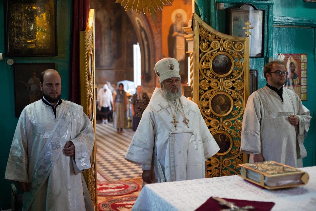 Божественная литургия в неделю 11-ю по Пятидесятнице