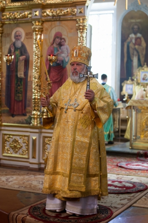 Поздравление с Днём Тезоименитства Преосвященнейшему Пармену, епископу Чистопольскому и Нижнекамскому