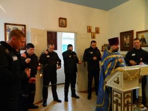 Неделя молитвы в исправительной колонии №4 города Нижнекамска