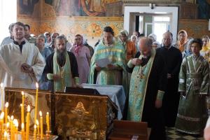 Божественная литургия в день памяти прп. Серафима Саровского