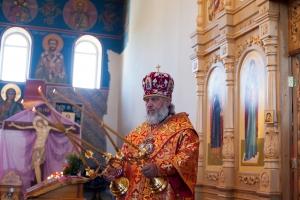 Божественная литургия в храме Илии пророка г. Нурлат