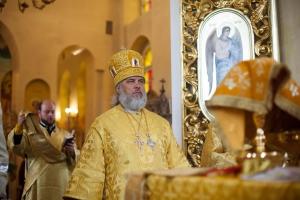 Архиерейская Божественная литургия в храме Воскресения Христова г. Нижнекамск
